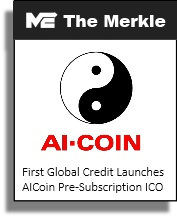 The Merkle - First Global Credit Launches AICoin Pre-Subscription ICO