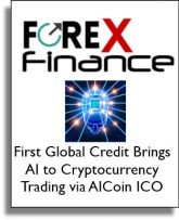 Forex Finance News - First Global Brings AI to Cryptocurrency Trading via AICoin ICO